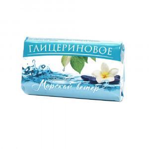 Мыло туалетное Глицериновое Морской ветер, 106 гр., бумажная упаковка