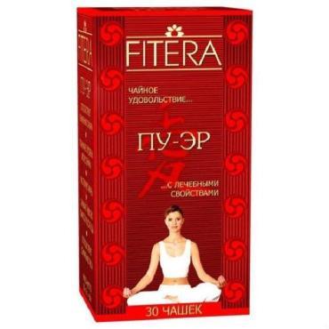 Фиточай Fitera Пу-Эр с лечебными свойствами