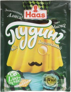 Пудинг Haas Банановый