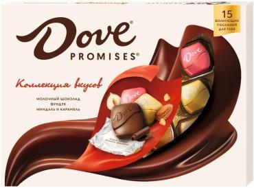 Конфеты Dove Promises, 118 гр., картон