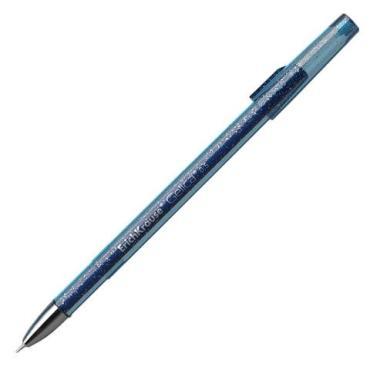 Ручка гелевая Erich Krause Gelica синяя корпус синий, игольчатый узел 0,5 мм, линия письма 0,4 мм