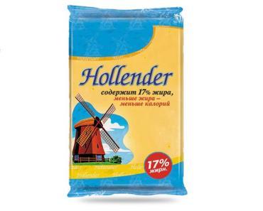 Сыр Hollender фасовка 35%, Россия