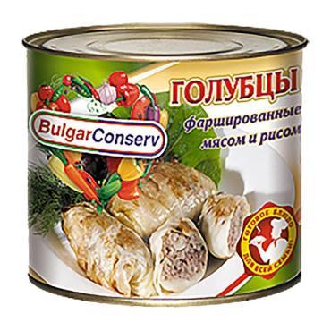 Голубцы BulgarConserv фаршированные мясом и рисом