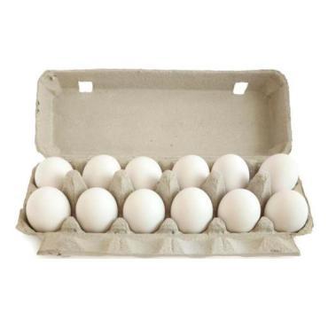 Яйцо Деревенские столовое Со белое 10 шт, Вараксино