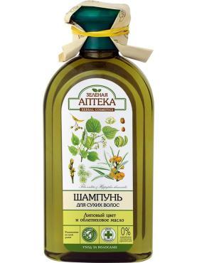 Шампунь для сухих волос Эльфа Зеленая аптека Липовый цвет и облепиховое масло
