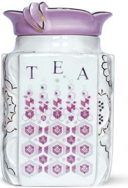 Чай черный и керамическая Сахарница Модерн, Hyton, 50 гр., керамика