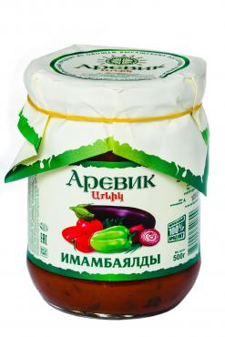 Баклажаны Аревик Авшар кружочки в томатном соусе
