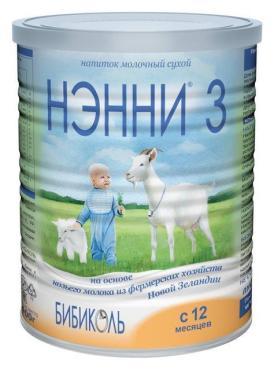 Сухая смесь Нэнни на основе козьего молока