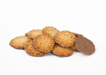 Печенье Баттерфляй КФ Чиполлино с кунжутом с молочной глазурью