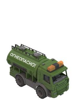 Военная спецтехника: Цистерна Огнеопасно зеленый Нордпласт