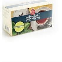Чай черный Fine Life с ароматом бергамота 25 пакетов