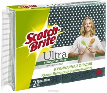 Губки Scotch-Brite ультра для посуды