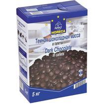 Масса шоколадная Horeca Select темная в галетах 53%