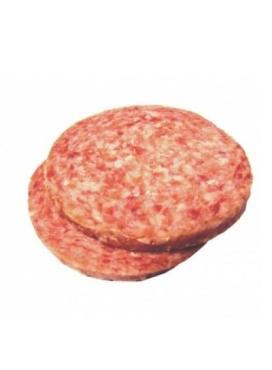 Котлеты для гамбургера Деликатесные Говяжьи с солью и перцем 128 мм.