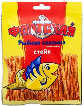 Соломка рыбная, Флотская, 15 гр., флоу-пак, 50 шт.