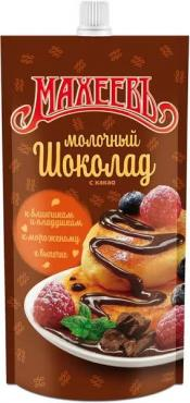 Топпинг Молочный шоколад Махеевъ, 300 гр., дой-пак с дозатором