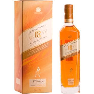 Виски шотландский купажированный 18 лет Johnnie Walker Ultimate 40 %, 700 мл., картонная коробка