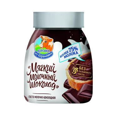 Шоколад молочный мягкий, 15%, Коровка из Кореновки, 330 гр., ПЭТ