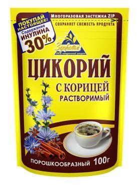 Цикорий с женьшенем, Здоровье, 100 гр., дой-пак