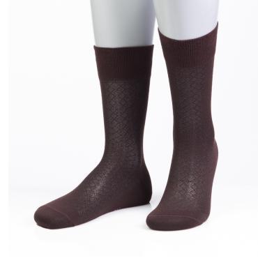 Носки мужские 15D21 коричневый 25 размер Grinston socks