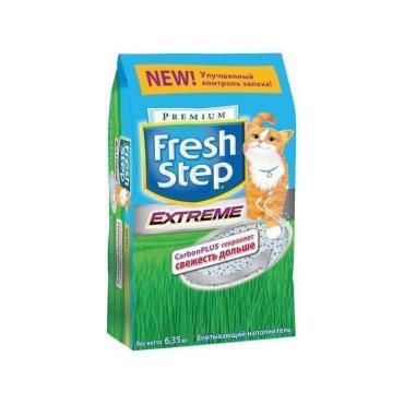 Наполнитель для кошачьего туалета Fresh Step впитывающий, 6,35кг