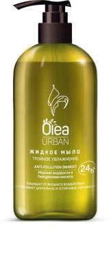 Мыло жидкое Olea Urban, 450 мл., пластиковый флакон с дозатором