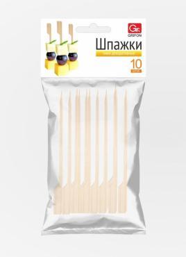 Пики декоративные 9 см., 30 шт., Grifon, Шпажки 15 гр., пластиковый пакет