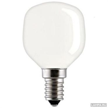Лампа накаливания GE 40T45/SL/E14 90562, General Electric 25 гр., картонная коробка