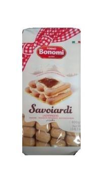 Печенье сахарное Савоярди 400 гр., флоу-пак