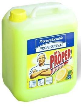 Средство моющее Mr.Proper Лимон для полов и стен 5л