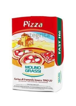 Мука из мягких сортов OO NZ для пиццы Молино Грасси 1кг