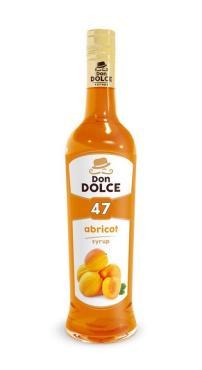 Сироп со вкусом абрикоса Don Dolce, 700 мл., стекло