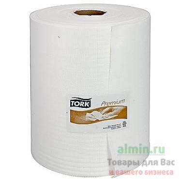 Материал протирочный Tork Premium нетканый в рулоне 1-слойный 330х270мм. 114м. белый