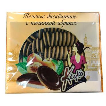 Печенье бисквитное Кико Абрикос, 1,2 кг., картонная коробка