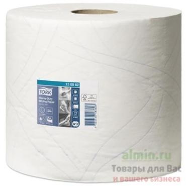 Бумага протирочная 23,5×34 см., 2-х слойная высокой прочности 500 листов 2 шт., Tork W1, W2, полиэтиленовая пленка