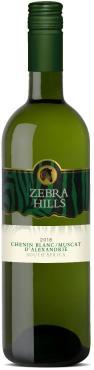 Вино белое полусухое Perdeberg Winery Zebra Hills Chenin Blanc Muscat, ЮАР, 750 мл., пластиковая упаковка