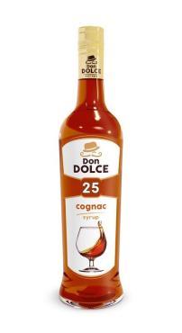 Сироп со вкусом коньяка Don Dolce, 700 мл., стекло