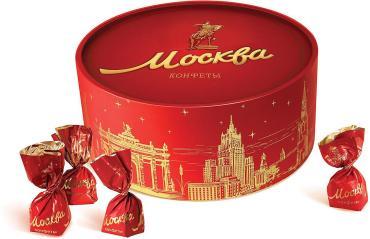 Конфеты набор Красный Октябрь Москва, 200 гр., картонная коробка