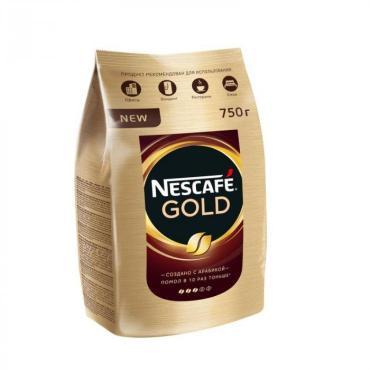 Кофе Нескафе Голд, 750 гр., дой-пак