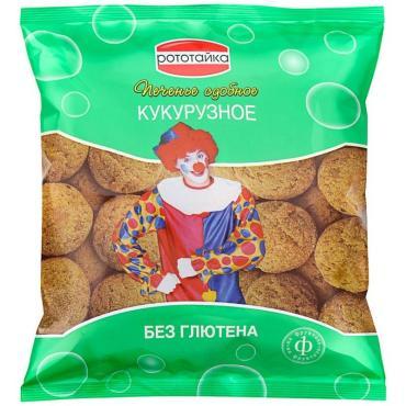Печенье кукурузное постное, Пищекомбинат Клинский, 330 гр., флоу-пак