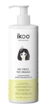 Кондиционер для волос разглаживающий, Icoo, Нет кудрей, нет драммы, 1 л., пластиковая бутылка