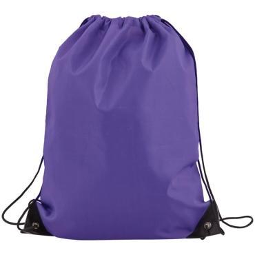 Мешок для обуви 1 отделение ArtSpace, 340*410мм, фиолетовый