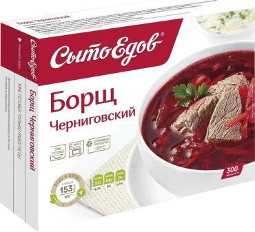 Суп Борщ СытоЕдов Черниговский, 300 гр., флоу-пак