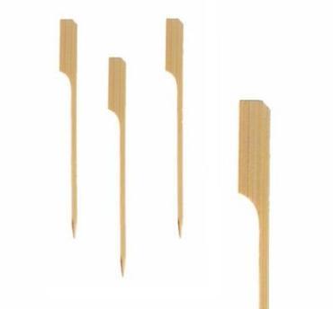Пика 18 см., бамбук 100 шт., Гольф