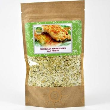 Панировка овощная для рыбы Organic food, 130 гр., бумажный пакет