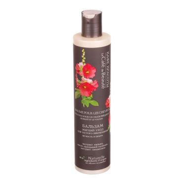 Бальзам уход для волос, для частого применения Кафе Красоты Легкость и объем волос, 300 мл., пластиковая бутылка