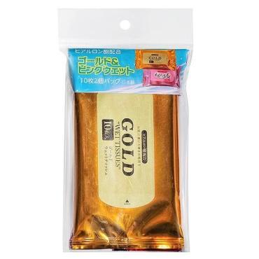 Салфетки влажные для тела 2х10 шт., Komoda Paper Industrial, пластиковый пакет
