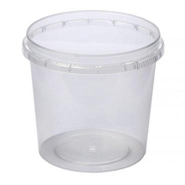 Контейнер прес./мёд банка прозрачный 360 мл, d=93 мм, h=84 мм, ПП, Перинт, 560 шт/уп