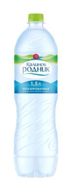 Вода Калинов Родник питьевая негазированная ,1.5 л.,ПЭТ
