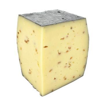 Сыр 45% с пажитником Альпенталь, 3 кг., вакуумная упаковка